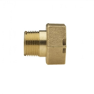 Mueller Company 3/4 x 1-1/2 in. Meter Brass Coupling MH10890N