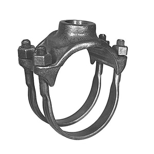 8 x 2 in. IP Bronze Double Strap Saddle MBR2B0899IPK