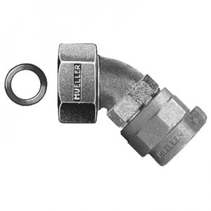 Mueller Company 3/4 in. Pack Joint x Swivel Nut Brass Straight Coupling MP15075N