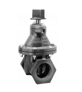 Mueller Company A-2360 Series 2-1/2 in. Threaded Cast Iron Open Left Resilient Wedge Gate Valve MA236008OR