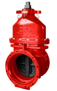 Mueller Company A-2361 Series 18 in. Mechanical Joint Ductile Iron Open Left Resilient Wedge Gate Valve MA236123900018OL
