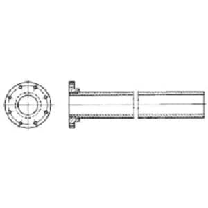 P-401 Mechanical Joint Ductile Iron C153 Short Body Solid Cap (Less Accessories) MJSCAPP4LA