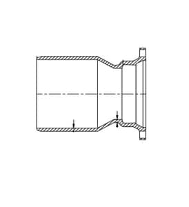 Tyler Union 20 in. Ductile Iron Blind Flange FBFPC20