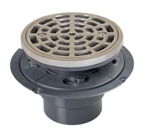 Sioux Chief 821 Series 2 in. Inside Caulk Plastic Stainless Steel Shower Drain S821200PCQ