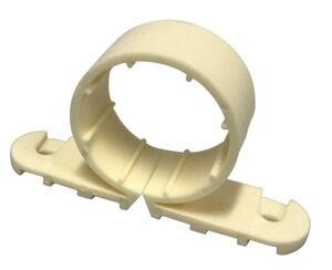 Sioux Chief 3-1/5 in. 2-Hole Poly CTS Pipe Clamp S5595
