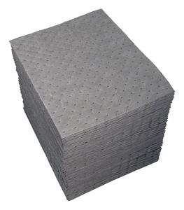 Brady Worldwide UXT® Universal Absorbent Pad in Grey (Case of 200) BUXT200