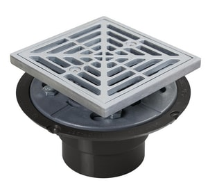 Sioux Chief 821 Series 2 in. Inside Caulk Plastic Oil Rubbed Bronze Shower Drain S821200ARBR