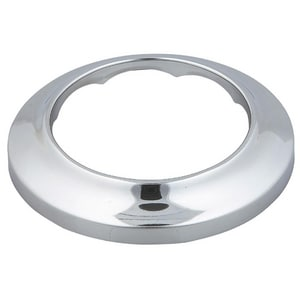 Sioux Chief 1/2 in. CTS Plated Steel Shallow Escutcheon Polished Chrome S9102