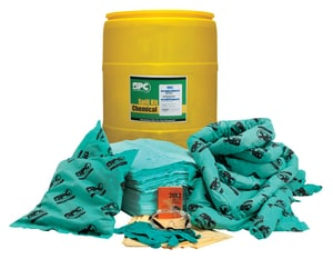 Brady Worldwide 55 gal Drum Chemical Spill Kit BSKH55 at Pollardwater