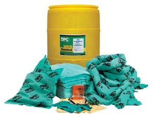 Brady Worldwide 55 gal Drum Chemical Spill Kit BSKH55 at Pollardwater