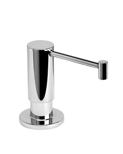 Waterstone 12 oz. Deckmount Soap Dispenser in Satin Nickel W4065SN