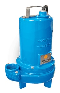Barmesa Pumps 2BSE-SS Series 2 in. 3/4 hp 230V 10.5A FNPT Silicone Carbide and Stainless Steel Submersible Sewage Pump B2BSE72SS