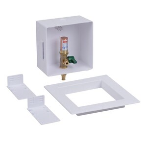 Oatey 6-21/50 in x 6 in x 3-1/2 in Ice Maker F1807 PEX Supply Box O39149