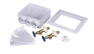 Oatey Quadtro® 9-43/100 in x 9-61/100 in x 3-73/100 in Washing Machine Copper Supply Box O38552
