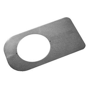 Oatey Round Closet Base Plate in Grey O31259