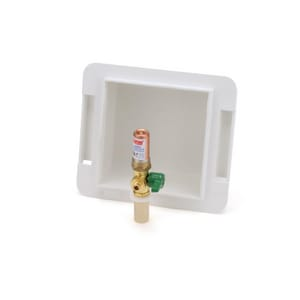 Oatey 1/4 in. CPVC Ice Maker Box Turn Hammer Ball Valve O39122
