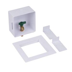 Oatey 6-21/50 in x 6 in x 3-1/2 in Ice Maker F1960 PEX Supply Box O39161