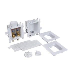 Oatey Moda™ 4 in x 4-17/20 in x 3-19/50 in Washing Machine CPVC Supply Box O37626