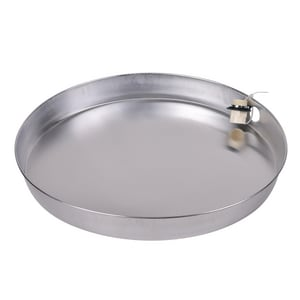 Oatey Aluminum Water Heater Pan in Aluminum O34171