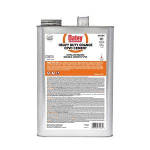 Oatey 1 gal Plastic Orange Pipe Cement O31084