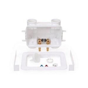 Oatey 2x4™ 12 in x 8-1/2 in x 3-7/10 in Washing Machine Copper Supply Box O38201