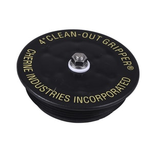 Cherne Clean-Out Gripper® 4 in. Cleanout Gripper Plug C270188 at Pollardwater