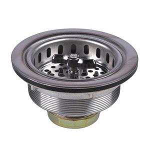 Dearborn Brass 3-1/2 in. Stainless Steel Spin Lock Basket Strainer DEA17