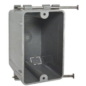 RACO 3-5/8 in. Non-Metallic Box with Captive Nail R7302RAC