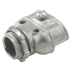 RACO 3/8 in. Uninsulated Die Cast Zinc Connector R2611