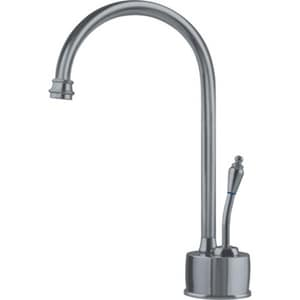 Franke Consumer Products Farm House 0.5 gpm 1 Hole Deck Mount Cold Water Dispenser with Single Lever Handle in Satin Nickel FDW6180C