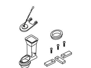 Kohler Clamp Flush Valve Kit K84216
