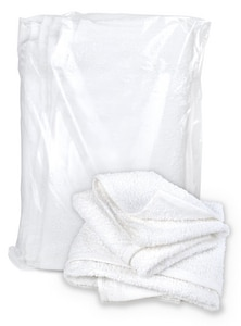 Buffalo Industries 2 lb. Terry Cloth Towel Rag in White BUF12051F