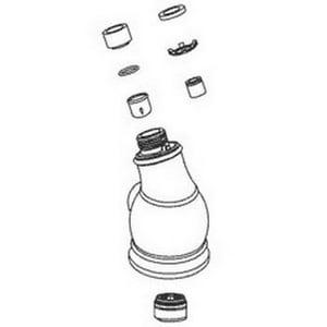Kohler Traditional Faucet Spray Assembly in Vibrant Stainless Steel K1013838-VS