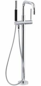Kohler Purist® Single Lever Handle Floor Mount Filler in Rough Gold Trim Only KT97328-4-RGD