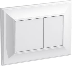 Kohler Memoirs® Flush Actuator Plate for K-18829-NA 2 x 4 in. In-Wall Tank and Carrier System in White K77271