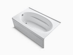 Kohler Windward® 72 x 42 in. Bathtub with Left Hand Drain in White K1115-ZZ-0