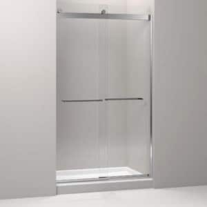 Kohler Levity® Front Sliding Glass Panel and Assembly Kit for Shower Door in Bright Polished Silver K706217-L-SHP