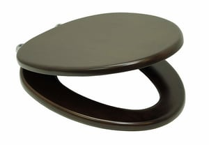TOTO SoftClose™ Elongated Maple Seat in Polished Chrome TSS304CP