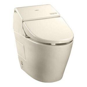 TOTO Washlet® 1.28 gpf Elongated Toilet in Sedona Beige TMS970CEMFG12