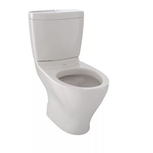TOTO Aquia® 1.6 gpf Elongated Two Piece Toilet in Cotton TCST412MF01