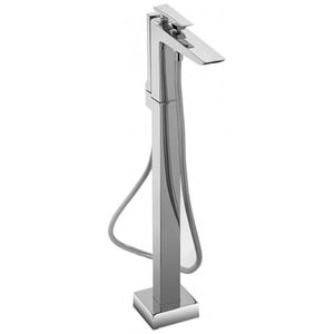 Toto USA Freestanding Tub Filler Trim with Single Lever Handle in Brushed Nickel TTB100SFBN