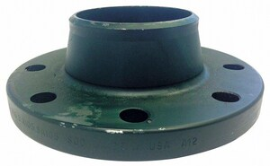 4 in. 300# Weldneck Carbon Steel Weld Flange G300RFWNF160BP