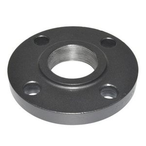 4 x 2-1/2 in. Threaded 150# Carbon Steel Flat Face Flange GFFTFPL