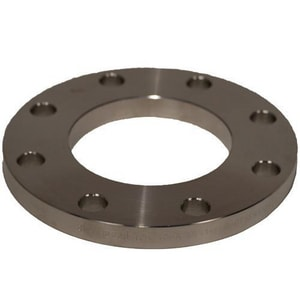 2 x 1 in. Slip-On 600# Carbon Steel Flat Face Flange G600FFSOFKG