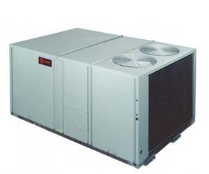Trane 20 Tons 460V Three Phase Standard Efficiency Downflow Packaged Gas or Electric Unit TYSD240F4RHA003G