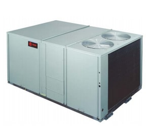 Trane Voyager™ 15 Tons 460V 7200 cfm High Efficiency Downflow Packaged Gas or Electric Unit TYHD180F4RHA0BT0