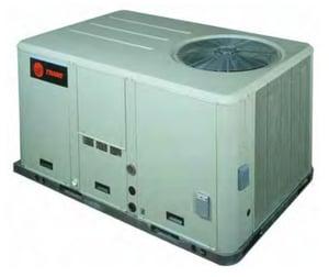 Trane Precedent™ 4 Tons 230V Standard Efficiency Convertible Packaged Heat Pump TWSC048E3REA1BV1
