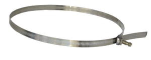 Elgen Manufacturing 9/16 in. Stainless Steel Hose Strap for 10 in. Duct EFC0025