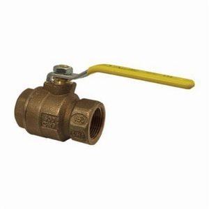 Apollo Conbraco 77CLF-A Series 1 in. Bronze Full Port NPT 600# Ball Valve A77CLF10527A