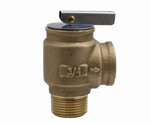 Apollo Conbraco 10 Series 3/4 in. Bronze MNPT x FNPT Relief Valve A1041